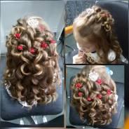 Детские прически, косы любой сложности