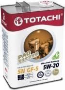 Totachi. Вязкость 5W-20, синтетическое