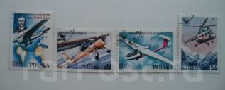 Польша. Авиация. ( 4 марки ) 1978 года.