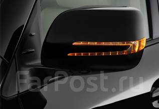 Зеркало заднего вида боковое. Lexus LX570 Toyota Land Cruiser, UZJ200W, VDJ200, URJ202W, URJ200, URJ202, UZJ200 Toyota Land Cruiser Prado, GDJ150L, GR...