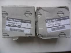 Подшипник передний ступицы с Магнитным кольцом. Nissan: Cube, Micra, March, Cube Cubic, Note, Micra C+C Двигатели: CR14DE, HR15DE, HR16DE, CG12DE, CGA...