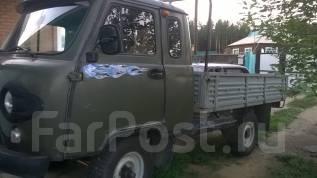 УАЗ 39095. Продается УАЗ бортовой 39095 пгт. Новокручининский, 2 890 куб. см., 1 250 кг.