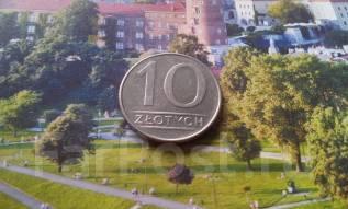 Польша. 10 злотых 1988 года.