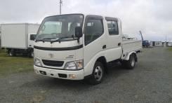 Toyota Dyna. Продам двухкабинный грузовик 4WD., 3 000 куб. см., 1 500 кг.