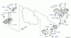 Подушка двигателя. Nissan X-Trail, T31, DNT31 Nissan Qashqai, J10 Nissan Qashqai+2 Двигатели: M9R127, M9R, M9R130, M9R110, R9M