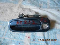 Ручка двери внешняя. Toyota Carina, AT212, AT211, AT210
