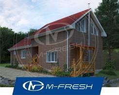 M-fresh Laguna (Свежий проект дома с отдельными зонами отдыха! ). 100-200 кв. м., 2 этажа, 5 комнат, каркас