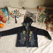 Куртки джинсовые. Рост: 110-116, 116-122, 122-128 см