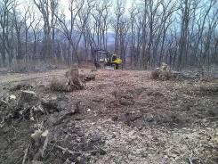 Раскорчуем участок , спилим любые деревья , отсыпим дорогу
