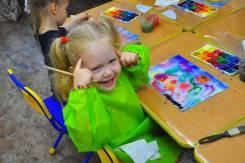 """Рисование для детей от 3 лет """"Мир в красках""""+Открыта старшая группа!"""
