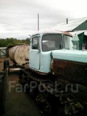 Вгтз ДТ-75. Продам трактор ДТ-75 с прицепом бочкой