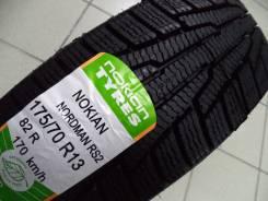Nokian Nordman RS2 SUV. Зимние, без шипов, 2016 год, без износа, 4 шт