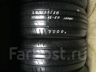 Yokohama BluEarth-A AE-50. Летние, 2012 год, износ: 5%, 2 шт