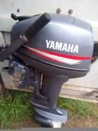 Yamaha. 9,90л.с., 2х тактный, бензин, нога S (381 мм), Год: 2008 год