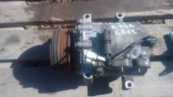 Компрессор кондиционера. Mitsubishi Galant, E53A Двигатель 6A11