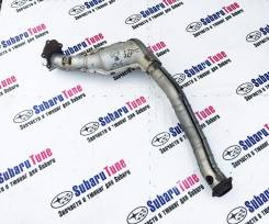 Приемная труба глушителя. Subaru Forester, SG5, SG9, SG