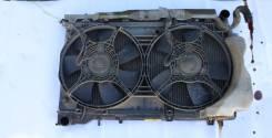 Вентилятор охлаждения радиатора. Subaru Forester, SG5 Двигатель EJ205