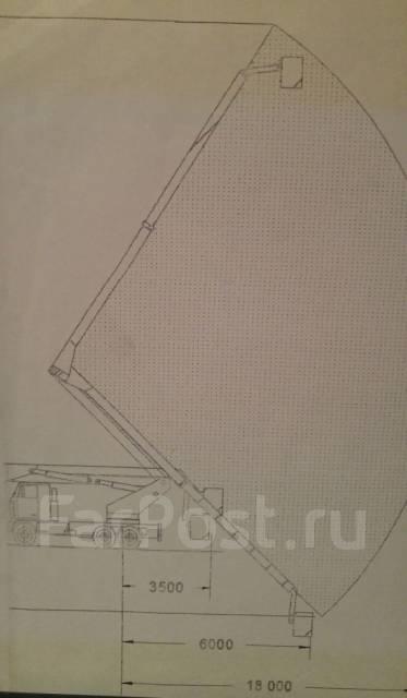 КамАЗ 5410. Автовышка 28м телескопическая (установка Финская), 28м.