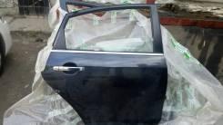Дверь R задн. Nissan Almera G15 13< б/у черная в сборе.