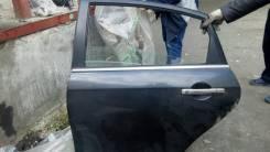 Дверь L задн. Nissan Almera G15 13< б/у черная в сборе.