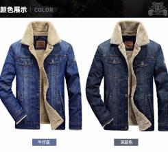 Куртки джинсовые. 46, 50, 54, 58, 62. Под заказ
