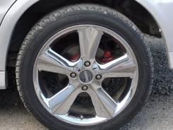 Продам комплект колёс на хромированных дисках. 7.0x17 4x114.30 ET47