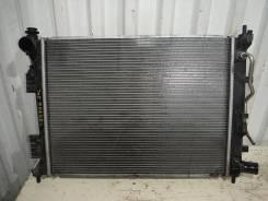 Радиатор охлаждения двигателя. Hyundai Solaris