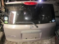 Дверь багажника. Nissan Note, ZE11, E11, NE11 Двигатели: CR14DE, HR16DE, HR15DE