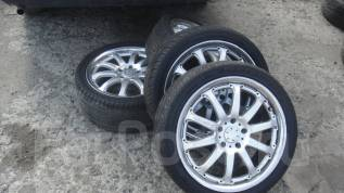 Комплект колес Rays G-games 225/40R18 лето. 7.5x18 5x114.30 ET42