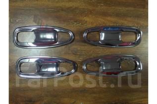 Накладка на ручки дверей. Toyota Land Cruiser Prado, TRJ150, GRJ150W, GRJ150, GDJ150L, GDJ151W, GDJ150W, TRJ150W, GRJ151, KDJ150L, GRJ150L, GRJ151W