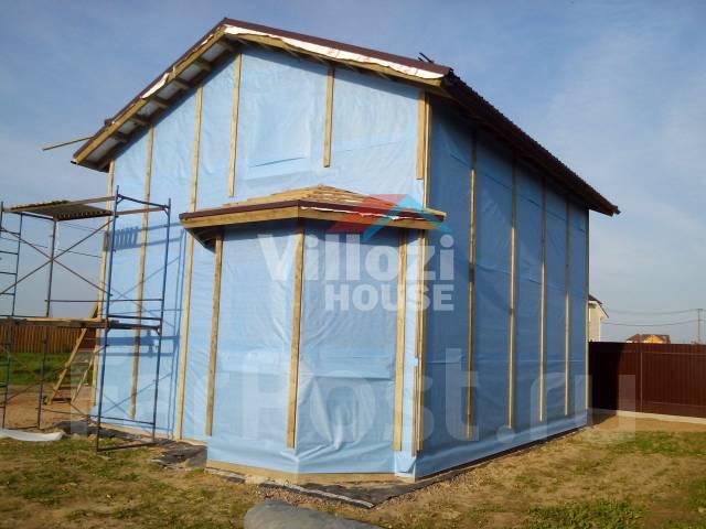 Строим дома, технология СИП. Монтаж тёплой кровли.