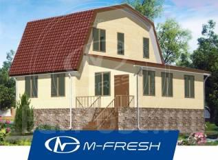 M-fresh Flagman-зеркальный. 100-200 кв. м., 1 этаж, 5 комнат, дерево
