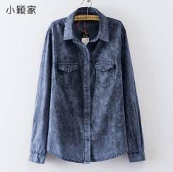 Рубашки джинсовые. 48, 50, 52, 54, 56