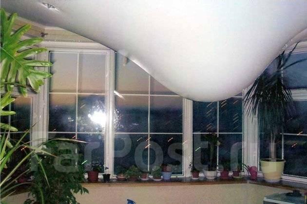 24 ЧАСА . Затопили натяжной потолок , Слив воды , ремонт потолка, квитанци