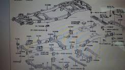 Подушка кузова. Lexus LX470, UZJ100 Toyota Land Cruiser, HDJ101, UZJ100