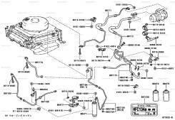 Трубка кондиционера. Toyota Hiace, KZH106W Двигатель 1KZTE