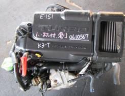 Двигатель в сборе. Daihatsu Terios Daihatsu YRV Двигатель K3VET