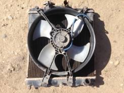 Радиатор охлаждения двигателя. Honda Partner, EY7 Двигатель D15B