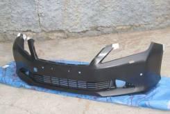 Бампер FR Camry V50 11- (под омыв. и сонары)