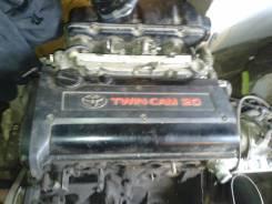 Двигатель в сборе. Toyota Carina, AT210 Двигатель 4AGE