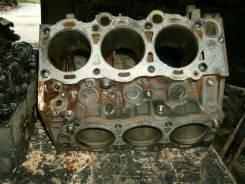 Блок цилиндров. Toyota Camry Prominent, VZV32 Двигатель 4VZFE