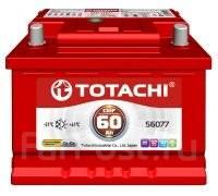 Totachi. 60А.ч., Прямая (правое), производство Корея