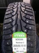 Nokian Nordman 5. Зимние, шипованные, без износа, 4 шт. Под заказ