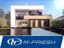 M-fresh Plaza! -зеркальный (Проект с просторной гостиной с витражами! ). 300-400 кв. м., 2 этажа, 5 комнат, кирпич