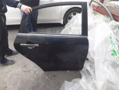 Дверь R задн. Nissan Almera G15 13< б/у черная в сборе