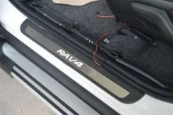 Накладка на порог. Toyota RAV4