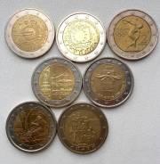 2 евро памятные монеты
