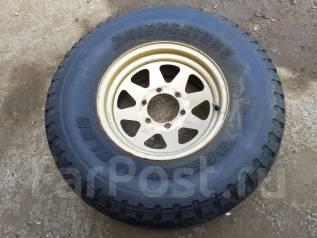 Одно колесо Bridgestone Desert Dueler 31x10,5R15. 7.0x15 6x139.70