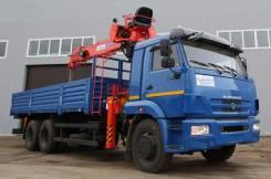 Kanglim KS1256G-II. КМУ Камаз 65117 с , 6 700куб. см., 7 000кг.