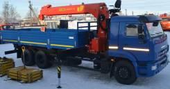 Palfinger. КМУ Камаз 65117 с Инман ИТ 150, 6 700 куб. см., 6 000 кг.